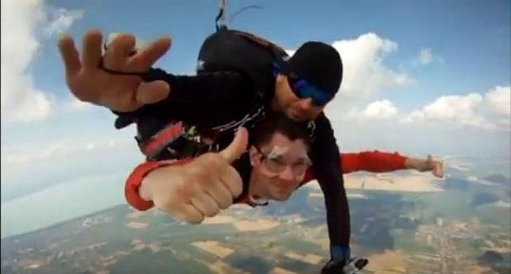 Tandem Skydive Adrenalin Jump