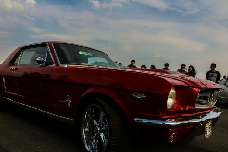 Mustang Red Car