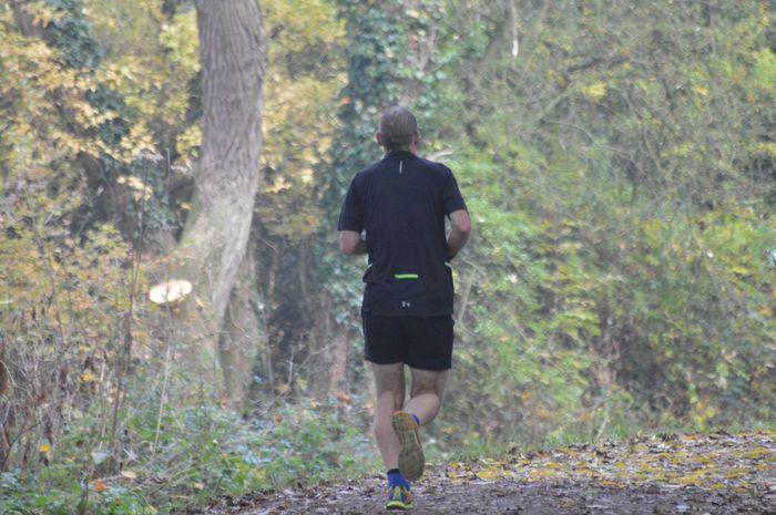 Autumn jog Jogging