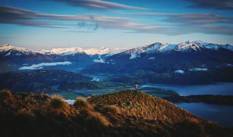 My Year My View Landscape Mountain Mountain Peak Beauty In Nature Mountain Range Scenics Travel Standing On Top Of The World Celebrate Life ✨✨✨ Celebrating Life Mountains And Valleys Finding New Frontiers Miles Away The Great Outdoors - 2017 EyeEm Awards Been There. Roys Peak New Zealand Lost In The Landscape Go Higher