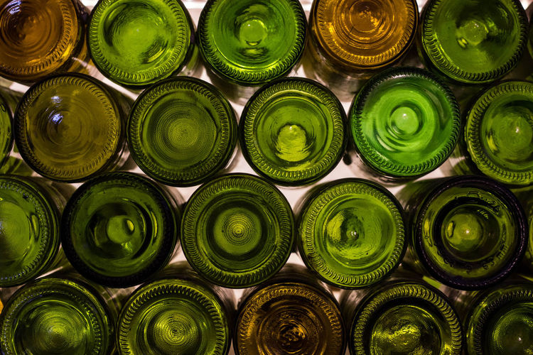 Canary Islands Islas Canarias Alcohol Bottle Colour Drink Food And Drink Glass Gran Canaria - Maspalomas Green Color In A Row Order Refreshment Still Life Verde Wine Wine Bottle