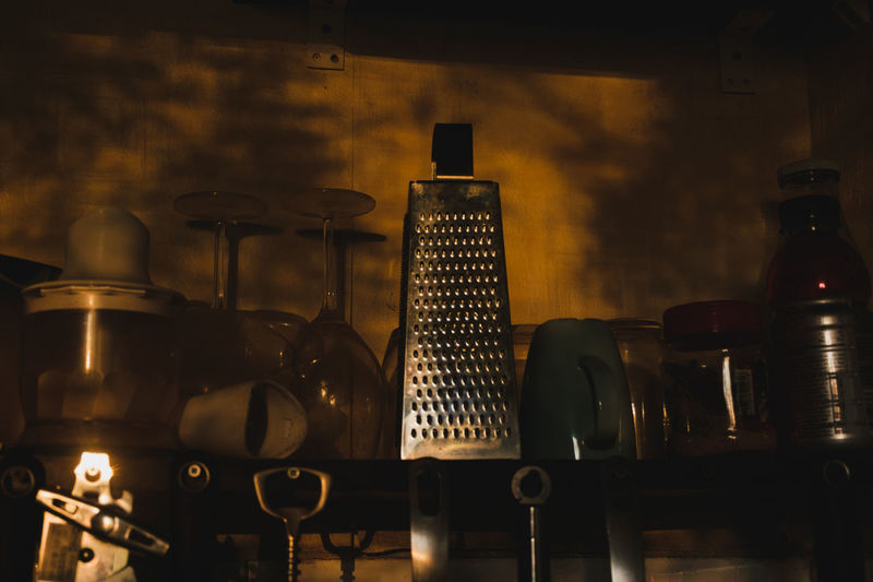 Russian kitchen in the sunset lights Bottle Close-up Evening Indoors  Kitchen No People Shadows & Lights Sunlight Sunset