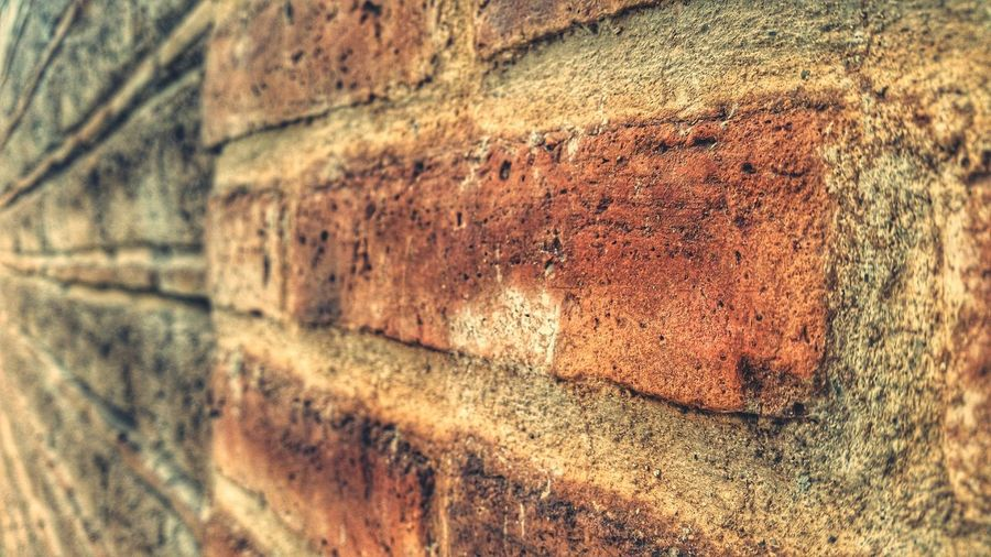 Just looking for some new styles Rustic Brick Wall Old Buildings House Grain First Eyeem Photo