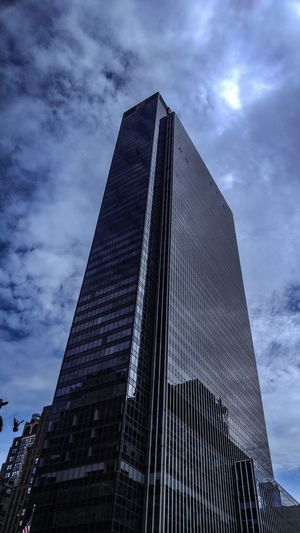 Low Angle View Sky Cloud - Sky Architecture Built Structure Building Exterior City Tower Tall - High Building Office Building Exterior Modern Office No People Nature Skyscraper Day Travel Destinations Outdoors