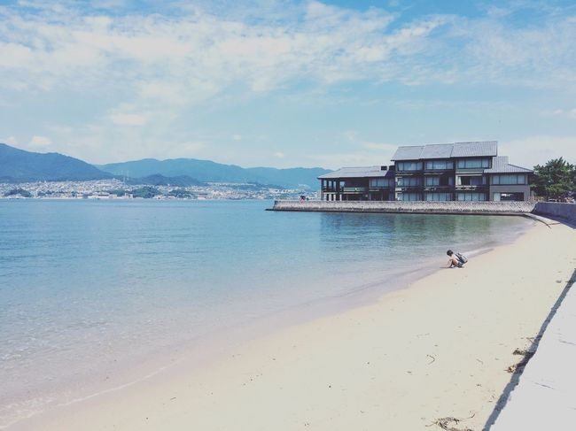 Hiroshima Beautiful Day Summerday My Point Of View Sea Side Miyajima Heritage Beach Beachphotography