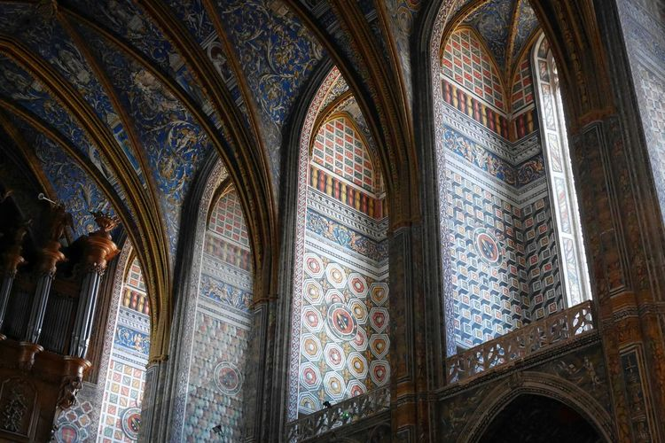 Cathédrale D'albi Cathedral Albi Colorful Colours Geometry Geometric Art Geometric Design