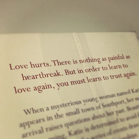 Quote of the day Nicholassparks Safehaven