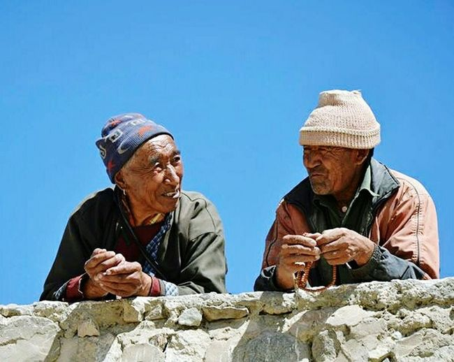 India Men Portrait Photography Nikon Nikonphotography Nikon D7000 Blue Sky Tranquil Scene Travelshots Everydayasia Enjoying Life People Watching Travel Photography Himalayas Ladakh