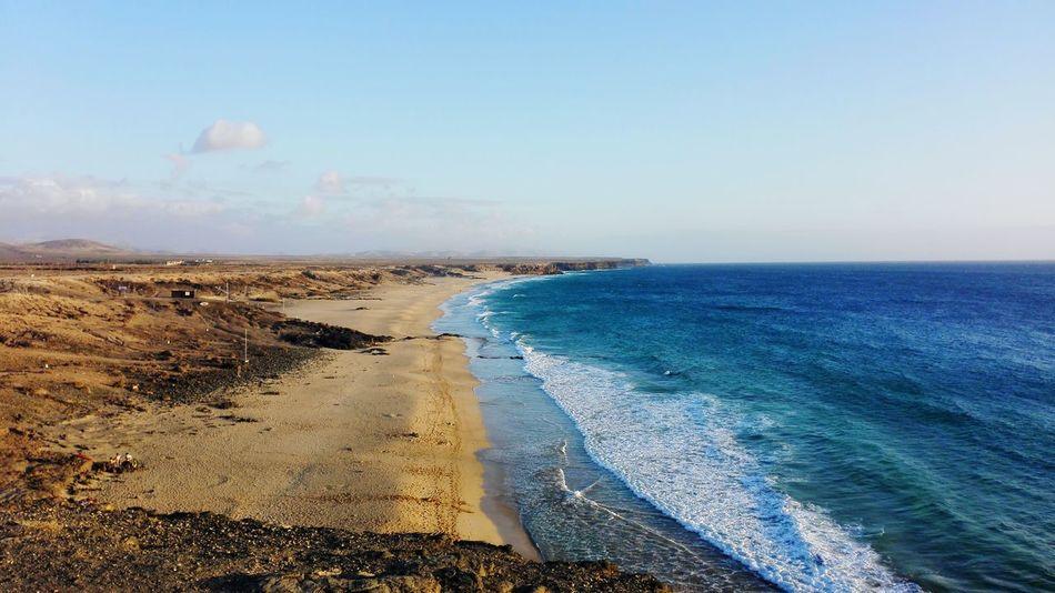 Piedra Playa Beach Elcotillo Surf Sea Fuerteventuraexperience Fuertaventura Islas Canarias Canarias Canary Islands Summer2017 VERANO 2017