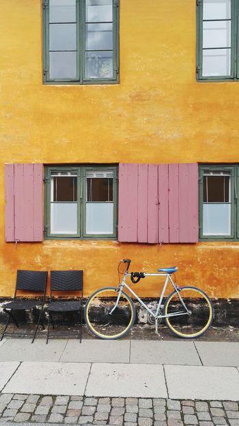 Copenhagen - Danemark Bike Outdoors Architecture Window City Street
