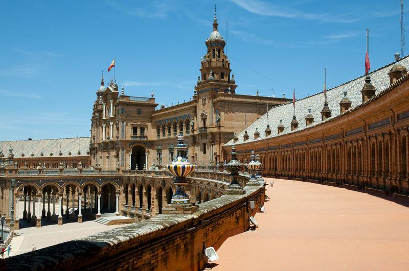 Plaza de Espana SPAIN Sevilla Seville City Plaza De España