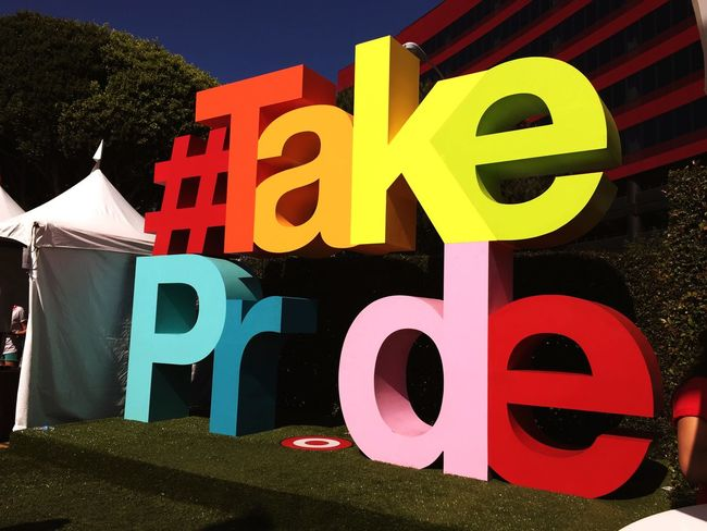 Be who you are and Takepride Lgbtq Lapride