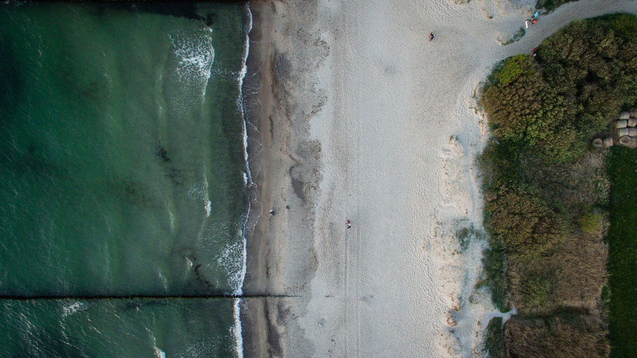 Beach Sea Land Day Beauty In Nature High Angle View Nature Ocean View Ocean Coastline Water Waves EyeEmNewHere