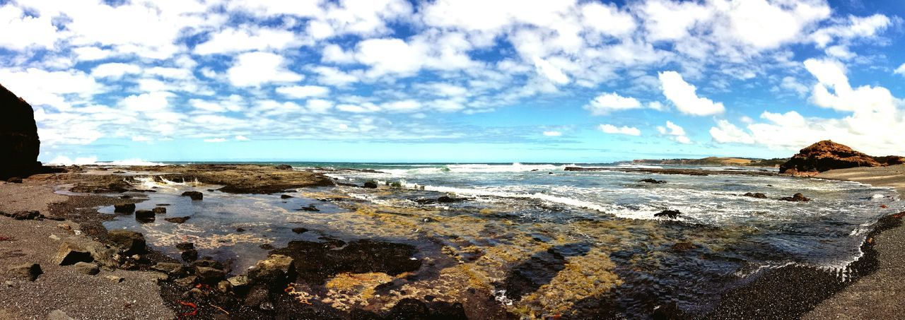Sound Of Life Raw roar of ocean waves, bright sunlight & salty wind. Sensory Overload Beachphotography Rocky Coastline