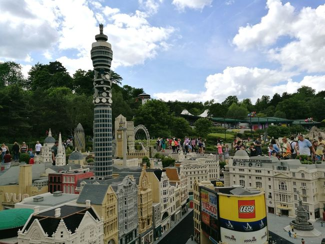 Lego land, Windsor. Cloud - Sky Sky Outdoors Day Architecture Tree LegoLover City LEGO Legoland Miniture London Mini London Capital City London London Eye Big Ben Big Ben, London Tree Water Sculpture Architecture Growth Park - Man Made Space Building Exterior Business Finance And Industry