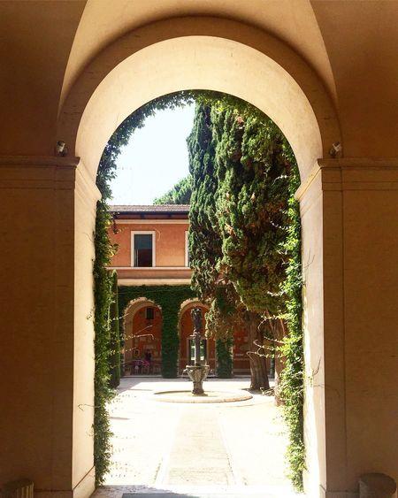 Architecture Rome Grandebellezza Americanacademy Secret Garden Hidden Gems