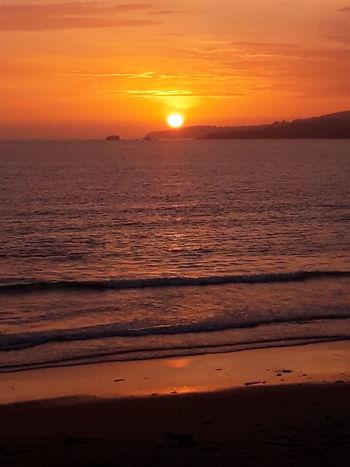 Desde una de las mejores playas de Galicia: Perbes.