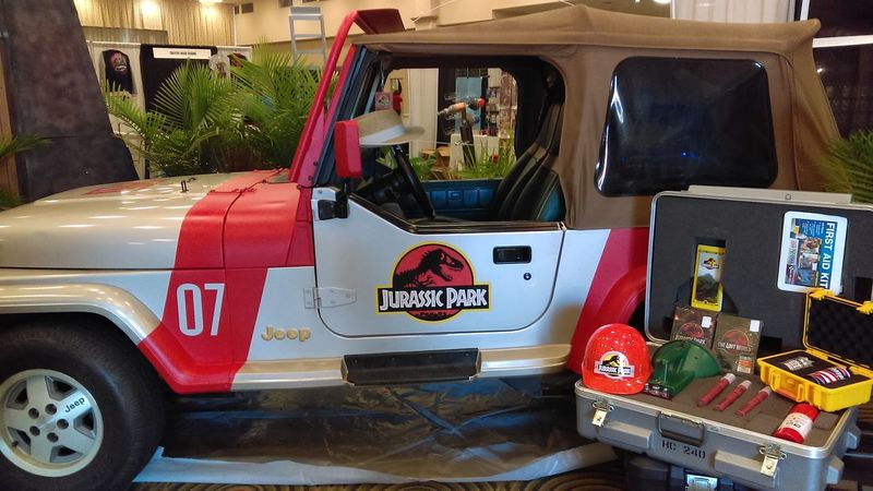 Jurassic Park Jeep at Omni Expo 2016