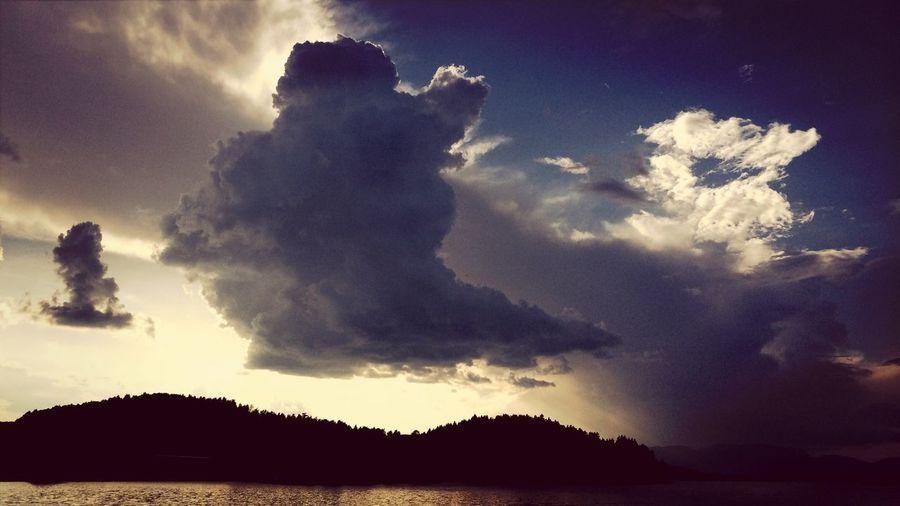 A Summer Cloud And Sky . Cloudporn