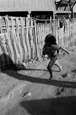 Full Length Childhood One Person Shadow Day Sunlight Sand Boys Males  People Outdoors One Boy Only Real People Child Adult
