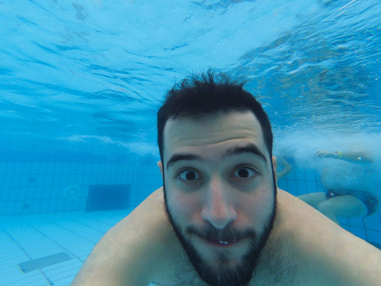 Budapest Budapest, Hungary Close-up Diving Gopro Looking At Camera Me My Year My View Selfie Selfie ✌ Stupid Face Swimming Pool Szechenyi Bath Széchenyi Baths Underwater Underwater Photography Underwaterphotography Water