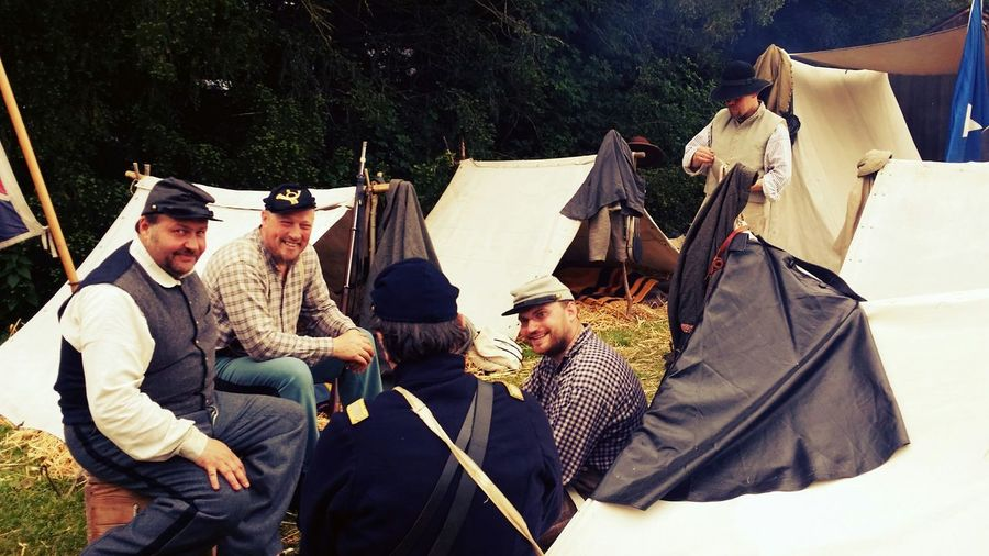 Historical Reconstitution Sully Sur Loire Tents Camp History Historic Civil War Civil War History Southerners