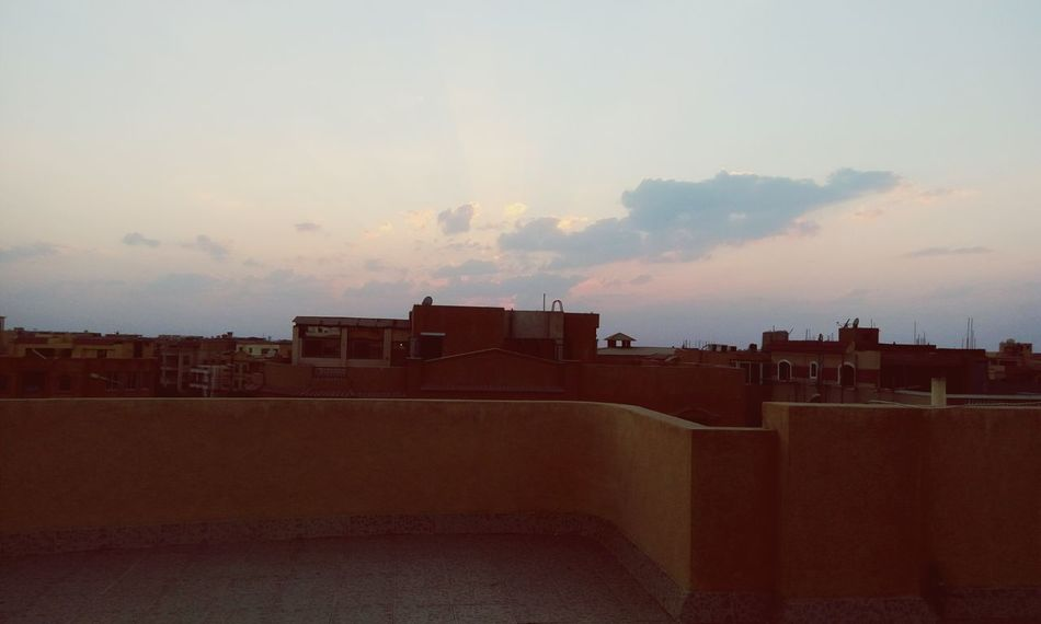 Sun☀ Sunset Sky Cairo Egypt Home Blue Sky Day
