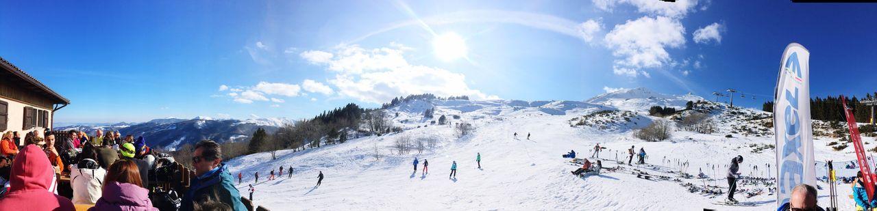Skiing ❄ Winter Snow Sunrise