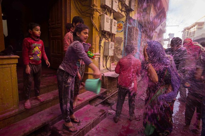 People Of Mathura Holi Multi Colored One Person Powder Paint Day Young Adult Adult Full Length Beauty Child Only Women Portrait Photography Portraits Portrait Of A Woman People Indoors  Nikon Portrait Human Body Part Travel PortraitPhotography Popular Photos Real People Headshot Break The Mold The Photojournalist - 2017 EyeEm Awards The Portraitist - 2017 EyeEm Awards The Street Photographer - 2017 EyeEm Awards