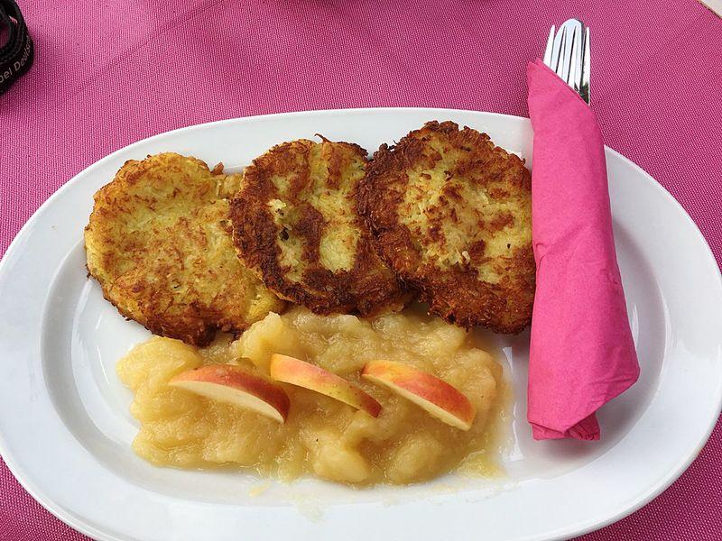 Kartoffelpuffer  Reibeplätzchen Potatoes