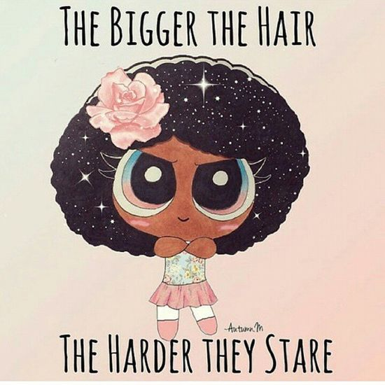 Black power ? natural girls stuff Nappy_hair Natural Girl African_hair Roots