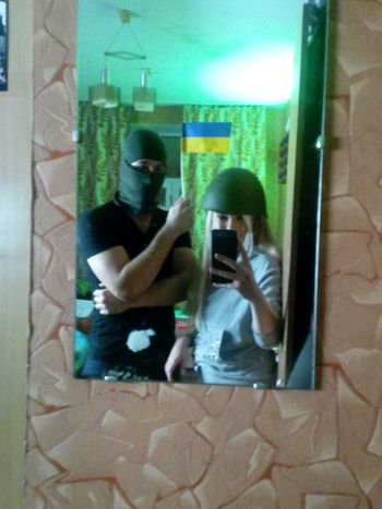 With Friend Ukraine Balaclava