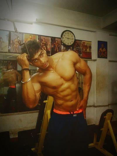 My FrienĐ jithin Bodybuilder♡♡♡♡♡♡