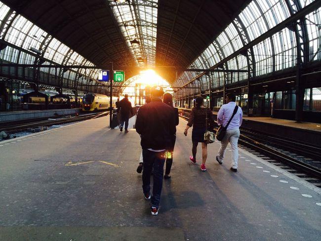 Amsterdam Centraal Station Omw