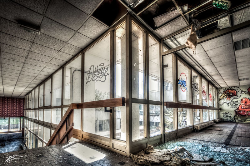 Abandoned Abandoned Places Building Damaged Deterioration HDR Hdr_Collection Interior Messy No People Obsolete Old Urban Exploration Urbex Urbexphotography Wide