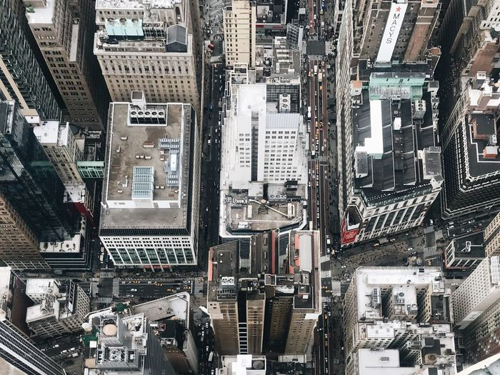 Building Cars NYC Birds Eye View Backgrounds Full Frame Day No People Architecture Outdoors Complexity City