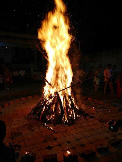Holikadahan Fire Long Exposure Hindurituals
