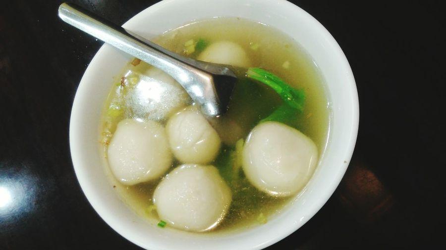 鹹湯圓 Salty Tangyuan