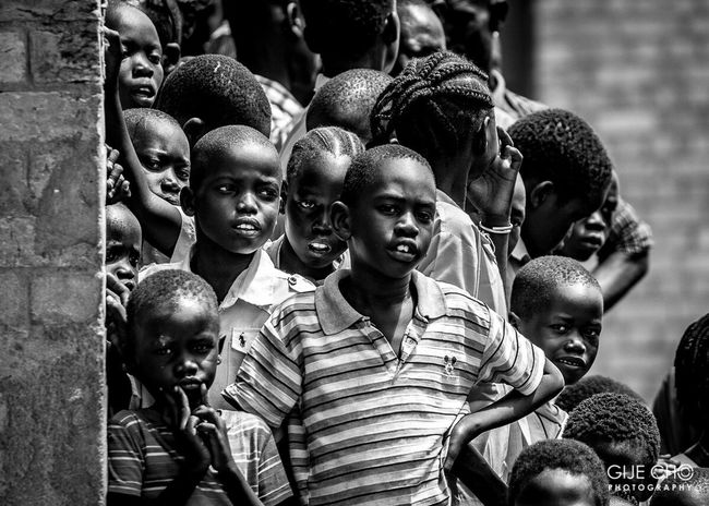 Boys Child People Cultures Group Of People Blackandwhite Africa Gijecho Travel EOS5DMKII