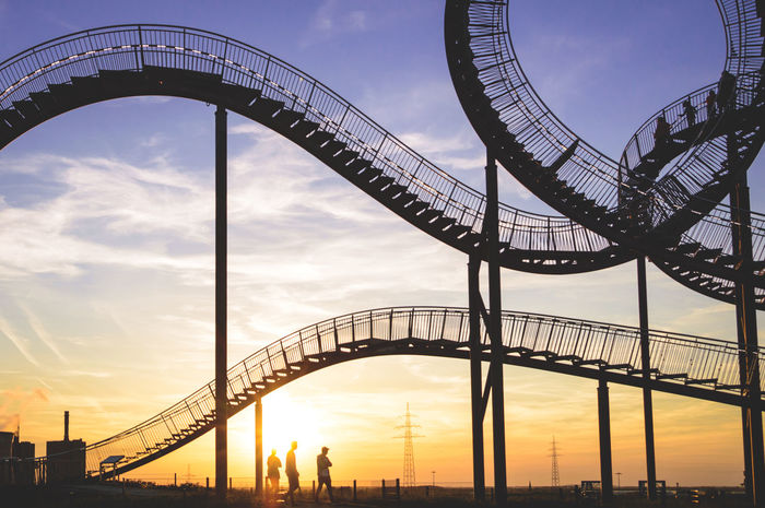 The fantastic Tiger and Turtle in Duisburg, Germany. This is a re-edit...after scrolling through my galery i realized, that i was not very satisfied with the colors of the original pic. Hope you like it! Fine Art Fineart First Eyeem Photo Sunset Sundown Sunlight Tiger And Turtle Atmosphere Mood Evening Sky Dramatic Sky Architecture Steel Loop People Sun From Behind Art Arts Culture And Entertainment Silhouette Sunlight Silhouette BYOPaper! Place Of Heart Sommergefühle Paint The Town Yellow Colour Your Horizn Visual Creativity