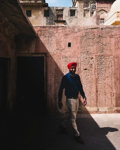 50 off. Travel Urban India Streetphotography Leicacamera Full Length Headwear Standing Shadow