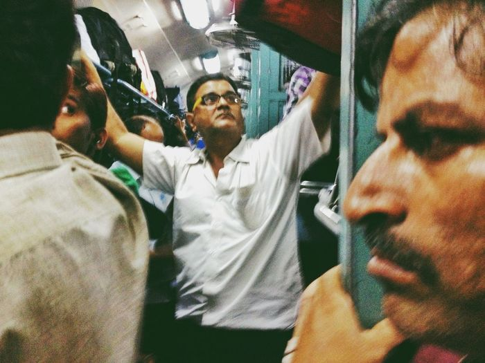 """General Compartment"" from an ongoing series ""Don't Panic!"" (Travails Of Indian Train Travel)"