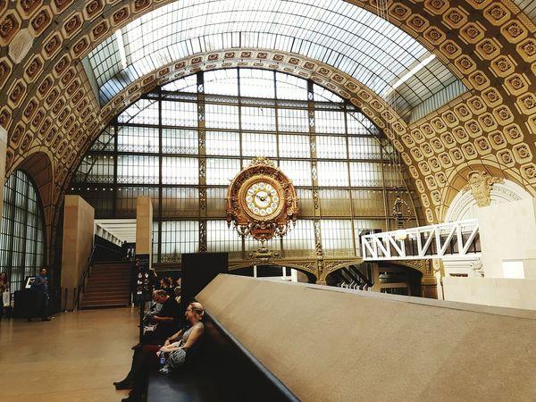 Light | Architecture Day Clock Indoors  France 🇫🇷 Architecture Paris ❤ Francia Musée D'Orsay Arts Culture And Entertainment Orsay Museum Orsay Museum Paris Parismuseum Parismuse
