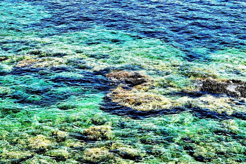 Shallow Water Just Water All Shades Of Blue And Green No People All Colors Of The Sea Waterscape Life Is More Than Just A Beach Alanya/Turkey Showcase July Colour Of Life