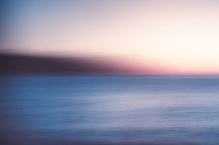 Sea Nature Scenics Horizon Over Water Beauty In Nature Tranquil Scene Motion Blur Panningphotography Headland Seascape Ocean Fine Art Photography Perspectives On Nature Shades Of Winter