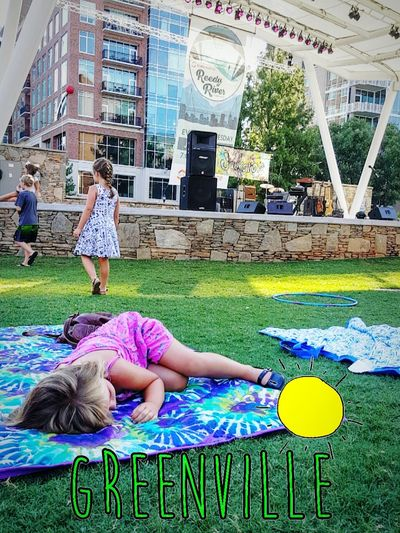 Yeahthatgreenville Live Music Reedy River Reedy River Amphitheater Raise Them Right Festie Kids Rager Status : Professional Tiny Tunechis The Tinies