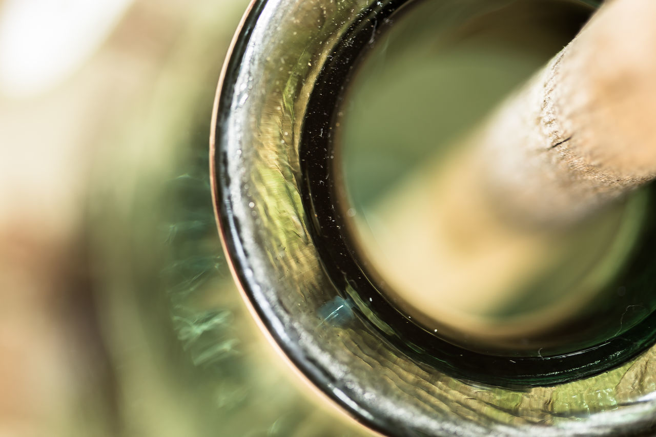 Cropped image of jar mouth