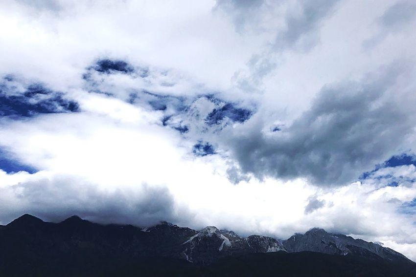 Mountain Sky Nature Cloud - Sky Scenics No People Mountain Range Landscape Outdoors Peak Ice Mountain Cold