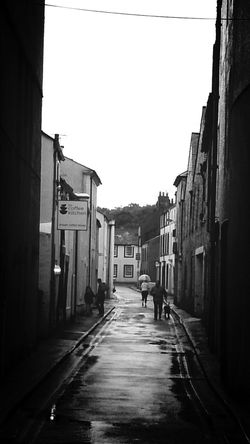 Street in the rain Blackandwhite Streetphotography Blackandwhite Photography Streetphoto_bw