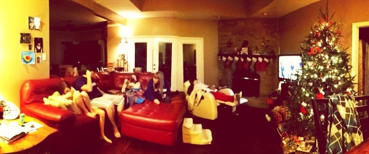 Christmas at the Coyne house